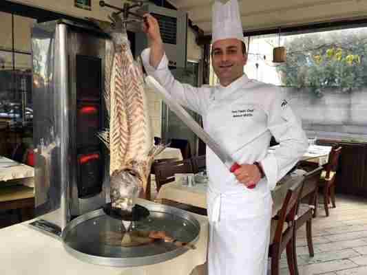 Mehmet Gezen Chefturco di pesce