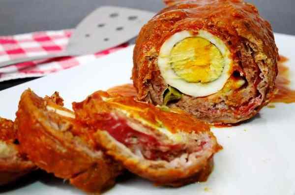 Falsomagro un piatto di carne dellacucina Siciliana