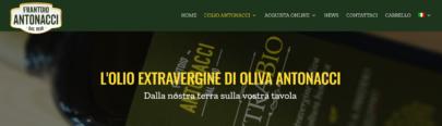 L'olio Extravergine d'oliva Biologico Antonacci - Olio Antonacci
