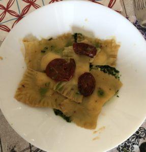 ravioli piatto