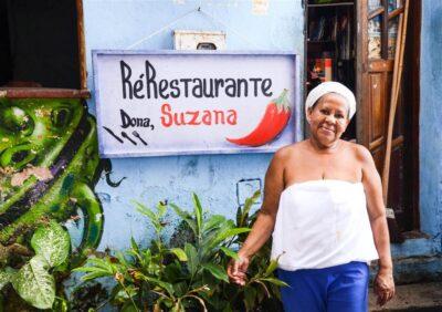 Dona Suzana e la cucina brasiliana